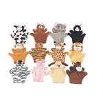 Animal-Puppets-825-Inches–12-Pieces–Assorted-Hand-Puppet-Animals-Includes-Arms-And-Legs-Great-Party-Favors-Fun-Toy-Gift-Prize–By-Kidsco-0
