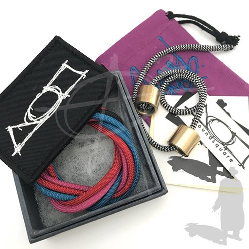 Around-Square-Everyman-AL-Hardcore-Begleri-Fidget-Toy-Heavy-Metal-Bronze-0