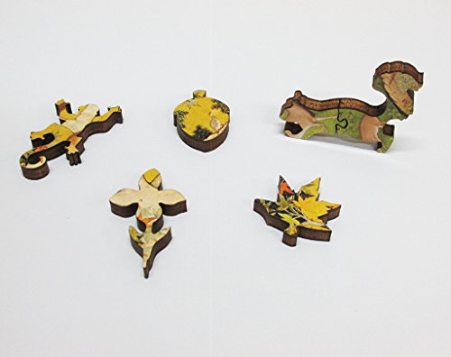 Artifact-Puzzles-Abu-al-Hasan-Squirrels-Wooden-Jigsaw-Puzzle-0-1
