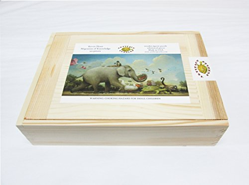Artifact-Puzzles-Kevin-Sloan-Migration-of-Knowledge-Wooden-Jigsaw-Puzzle-0-0