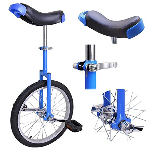 Astonishing-Blue-18-Inch-In-18-Mountain-Bike-Wheel-Frame-Unicycle-Cycling-Bike-With-Comfortable-Release-Saddle-Seat-0-0