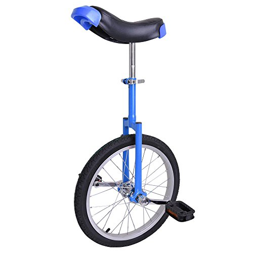 Astonishing-Blue-18-Inch-In-18-Mountain-Bike-Wheel-Frame-Unicycle-Cycling-Bike-With-Comfortable-Release-Saddle-Seat-0