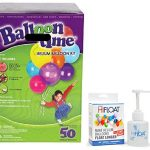 Balloon-Time-Disposable-Helium-Kit-Tank-149-cuft-Plus-an-Ultra-Hi-Float-Party-Balloons-will-Float-for-Several-Days-50-Balloons-and-Ribbon-Included-by-Blue-Ribbon-0