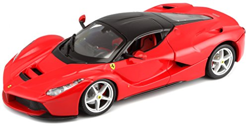 Bburago-124-Scale-Ferrari-Race-and-Play-LaFerrari-Diecast-Vehicle-Colors-May-Vary-0