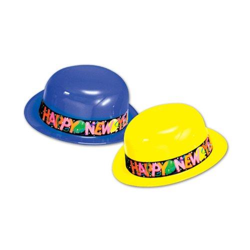Beistle-88377-25-New-Year-Derbies-25-Hats-Per-Package-0