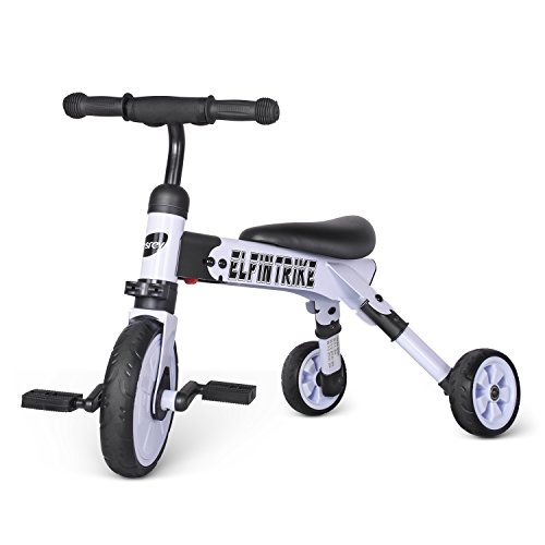 Besrey-3-In-1-Baby-Trike-Toddlers-Glide-Foldable-Tricycle-0