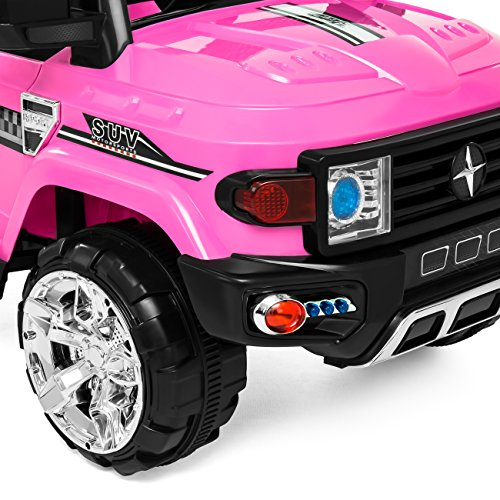 Best Choice Products 12V MP3 Kids Ride On Truck Car R/c