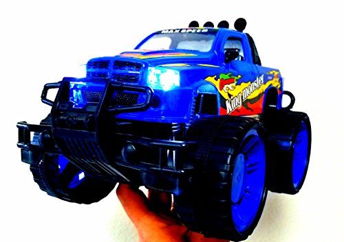 Big-Foot-Monster-Truck-W-Lights-and-Sounds-Childrens-Kids-Friction-Toy-Truck-Ready-To-Run-High-Speed-4WD-Climbing-No-Batteries-Required-0-0