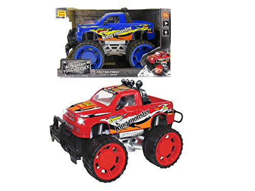 Big-Foot-Monster-Truck-W-Lights-and-Sounds-Childrens-Kids-Friction-Toy-Truck-Ready-To-Run-High-Speed-4WD-Climbing-No-Batteries-Required-0-1