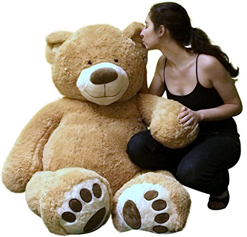 Big Plush Personalized Giant 5 Foot Teddy Bear Premium Soft