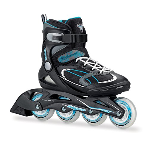 Bladerunner-by-Rollerblade-Advantage-Pro-XT-Womens-Adult-Fitness-Inline-Skate-Black-and-Light-Blue-Inline-Skates-0