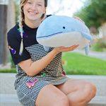 Blow-the-Blue-Beluga-Whale-Plush-Large-Stuffed-Animal-Shark-for-Children-2-Feet-Long-by-Buddy-Plush-0-2