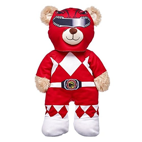 Build A Bear Workshop 15 Plush Doll Clothes Power Rangers Red