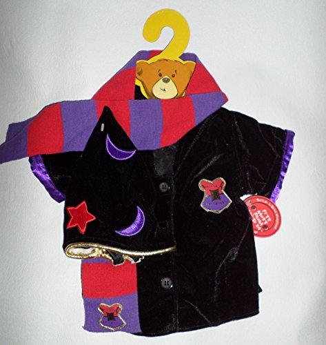 Build-a-bear-Halloween-Costume-Set-of-3-Pcs-Clothing-Wizard-Academy-0