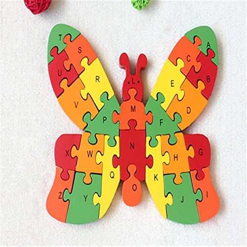 Butterfly-26-Piece-English-Letters-Digital-Cognitive-Wooden-Jigsaw-Puzzle-Game-Children-Logical-Thinking-Sudoku-Puzzles-0