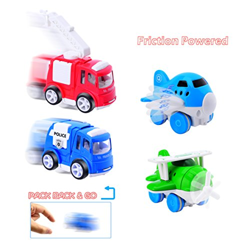 CARLORBO-4-Play-Vehicles-with-Large-Playmat-Set-Die-Cast-Pull-Back-and-Friction-Powered-Toys-with-a-5939in-My-Town-Play-MatBest-Christmas-Gift-Toddler-Toys-for-2-year-old-Boys-Girls-0-2