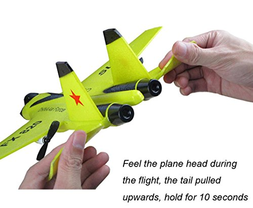 Children-Toy-Deklong-FX-823-24G-2CH-RC-Airplane-Glider-Remote-Control-Plane-Outdoor-Aircraft-Adult-Toy-0-1
