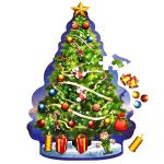 Christmas-Floor-Jigsaw-Puzzle-Bundle-for-Kids-Ages-4-8-Large-Santa-and-Large-Christmas-Tree-Puzzle-W29pc-Ornaments-Decoration-kit-Free-Gift-Spill-Resistant-Bubble-Tumbler-0-1