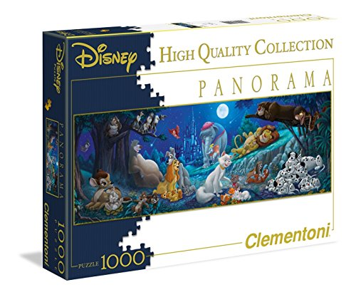 Clementoni Disney Sweet Night Panorama Puzzle 1000