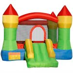 Cloud-9-Mighty-Bounce-House-Inflatable-Bouncing-Jump-and-Slide-with-Air-Blower-Castle-Theme-0