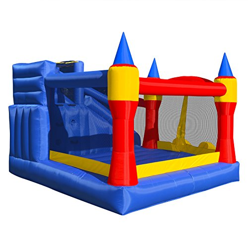 Moon Bounce Blower : Cloud mighty bounce house inflatable royal slide jump