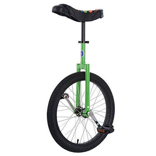 Club-20-Freestyle-Unicycle-Green-0
