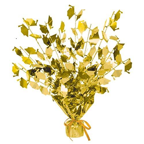 Club pack of gold foil spray graduate cap gleam 'n
