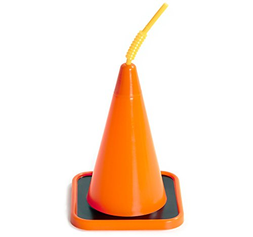 Construction-Childrens-Birthday-Party-Supplies-Orange-Construction-Cone-Plastic-Sippy-Cup-with-Straw-16-0
