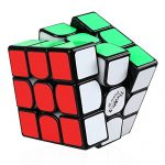 Coogam-Qiyi-Valk-3-Power-Magnetic-Speed-Cube-3×3-Black-The-Valk3-M-Puzzle-Cube-0-0