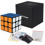 Coogam-Qiyi-Valk-3-Power-Magnetic-Speed-Cube-3×3-Black-The-Valk3-M-Puzzle-Cube-0
