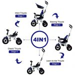 Costzon-4-In-1-Baby-Tricycle-Detachable-Learning-Bike-w-Canopy-Bag-Kids-Steer-Stroller-0-0