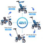 Costzon-4-In-1-Baby-Tricycle-Steer-Stroller-Detachable-Learning-Bike-w-Canopy-Basket-0-0