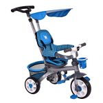 Costzon-4-In-1-Baby-Tricycle-Steer-Stroller-Detachable-Learning-Bike-w-Canopy-Basket-0