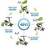 Costzon-4-In-1-Kids-Steer-Tricycle-Stroller-Bike-w-Canopy-Basket-0-1