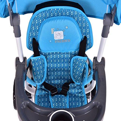 Costzon-4-in-1-Kids-Tricycle-Steer-Stroller-Toy-Bike-w-Canopy-Basket-0-2
