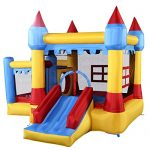 Costzon-Inflatable-Bounce-House-Castle-Commercial-Kids-Jumper-Moonwalk-With-Ball-Without-Blower-0-0