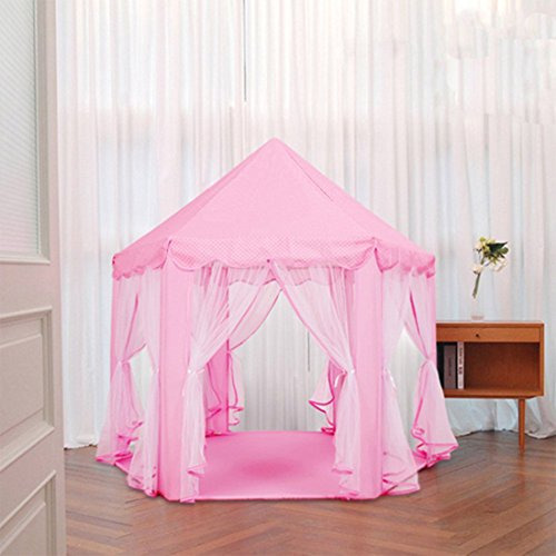 CuteKing-Princess-Castle-Kids-Play-Tent-Children-Large- & CuteKing Princess Castle Kids Play Tent Children Large Playhouse ...