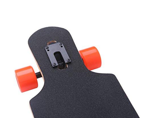 DGWBT-Bamboo-Maple-41-inch-Drop-Through-Longboard-Skateboard-Complete-0-1