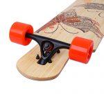 DGWBT-Bamboo-Maple-41-inch-Drop-Through-Longboard-Skateboard-Complete-0-2