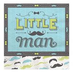 Dashing-Little-Man-Mustache-Baby-Shower-or-Birthday-Party-Tableware-Plates-Cups-Napkins-Bundle-for-16-0-2