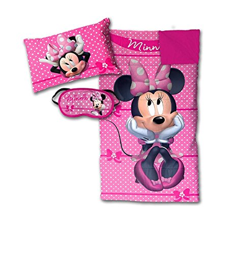 Disney-Minnie-Mouse-Bowtique-Sleepover-Set-Sleeping-Bag-Pillow-and-Eye-Mask-0