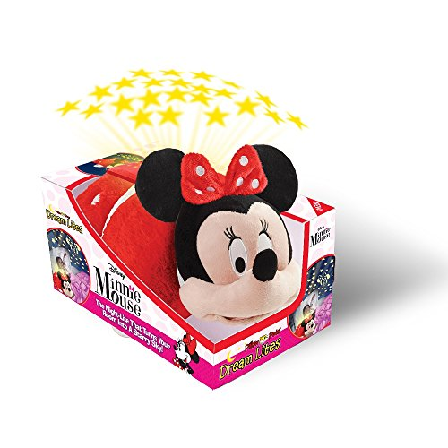 disney minnie mouse dream lite rockin the dots minnie mouse plush night light hobby. Black Bedroom Furniture Sets. Home Design Ideas