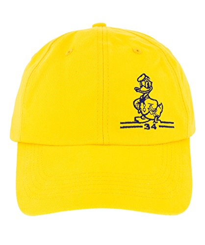 Disney-Parks-Bright-Yellow-Donald-Duck-Hat-Cap-NEW-0