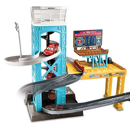 Disney Pixar Cars 3 Piston Cup Motorized Garage Hobby