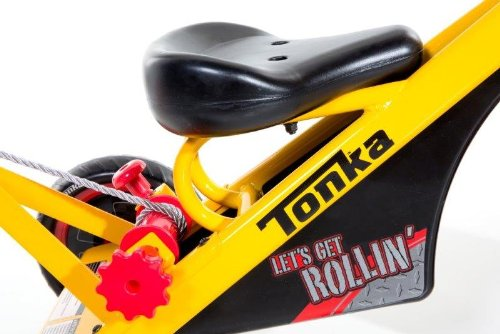 Dynacraft-Tonka-Tricycle-10-Inch-YellowRedBlack-0-1
