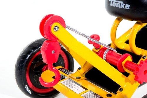 Dynacraft-Tonka-Tricycle-10-Inch-YellowRedBlack-0-2