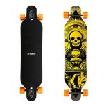 ENKEEO-41-Inch-Drop-Through-Longboard-Skateboard-Complete-for-Carving-Downhill-Cruising-Freestyle-Riding-0