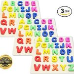 EasY-Kids-ToY-Wooden-Peg-Puzzle-3-Pack-with-Colorful-Letters-Of-The-Alphabet-Best-Jigsaw-Game-for-Children-To-Learn-an-Have-Fun-ABC-Sorting-Puzzle-for-Kids-They-are-Entertained-for-Hours-0