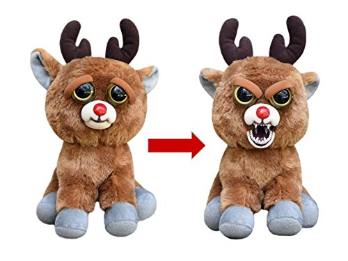 Feisty Pets Rude Alf The Blood Nosed Reindeer Goes From