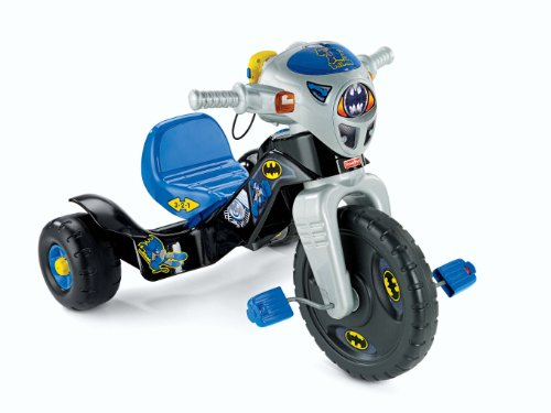 Fisher-Price-DC-Super-Friends-Batman-Lights-Sounds-Trike-0-0
